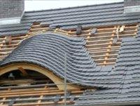 Dacharbeiten an einem Haus in Weißwasser durch die Dachdeckerei Jobke